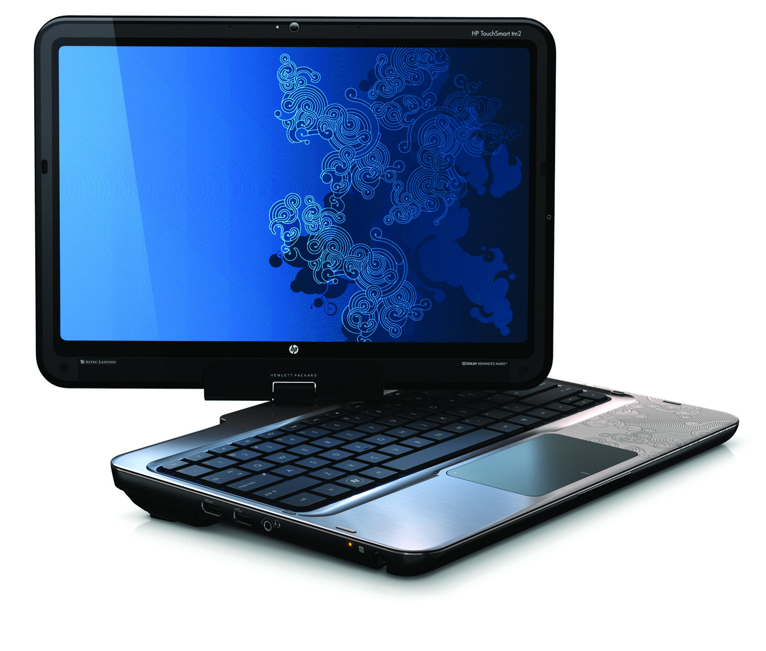 Ces hp touchsmart tm2 announced with intel for a quieter for Notebook tablet