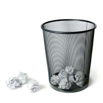 how to bulk delete trash mac