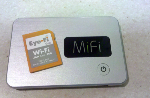 Mifi EyeFi together