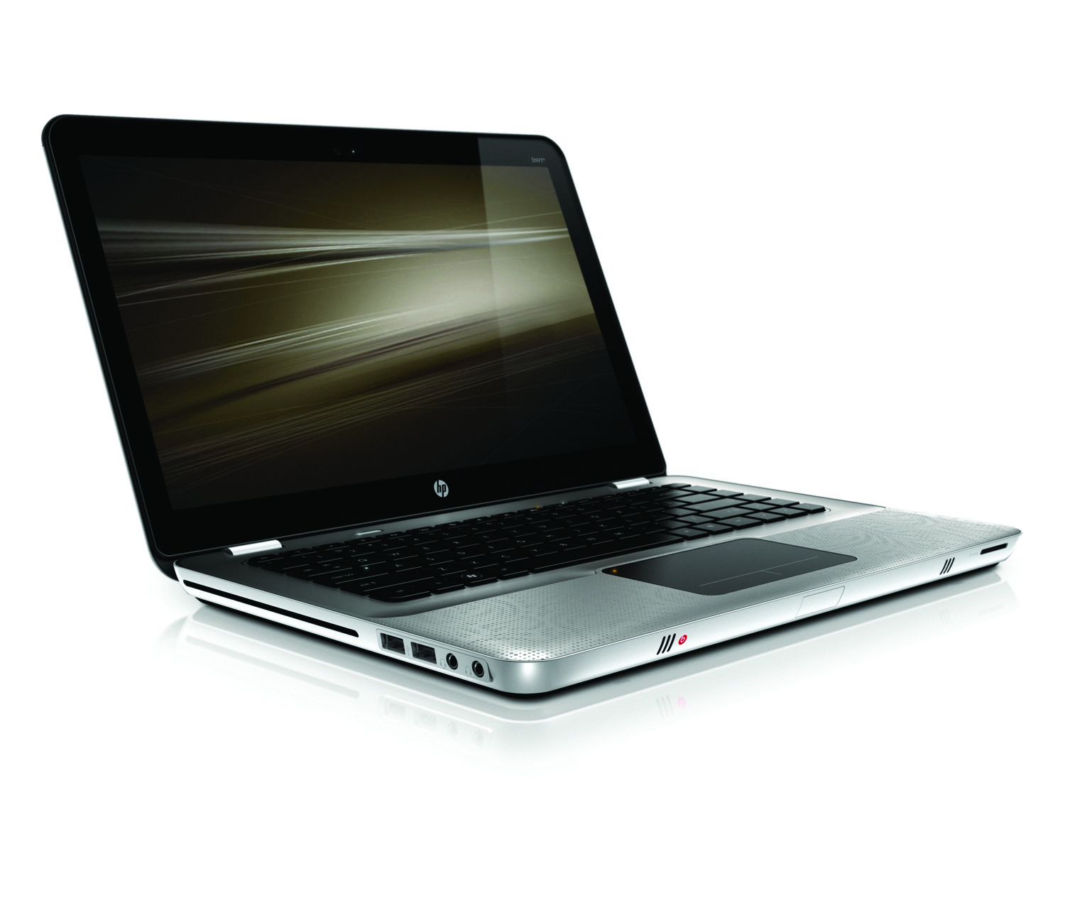 HP Envy 14, front right on white