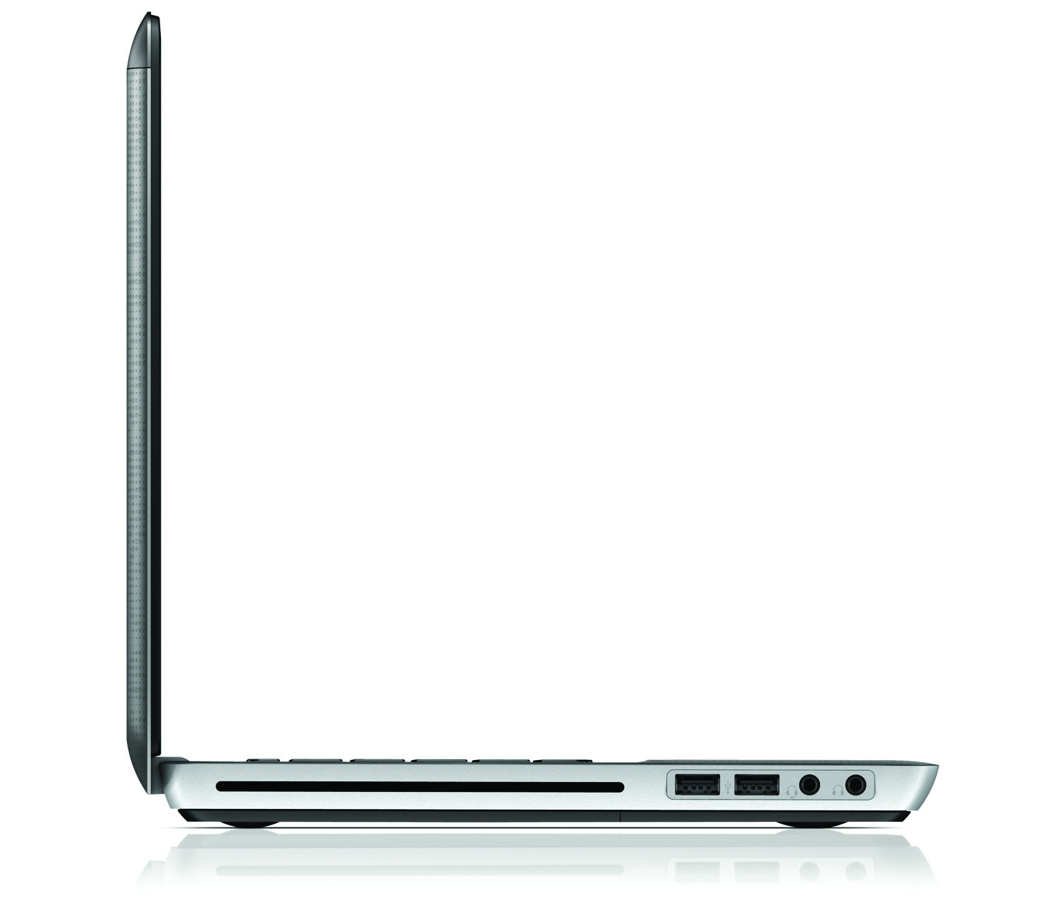 HP Envy 14, right profile on white