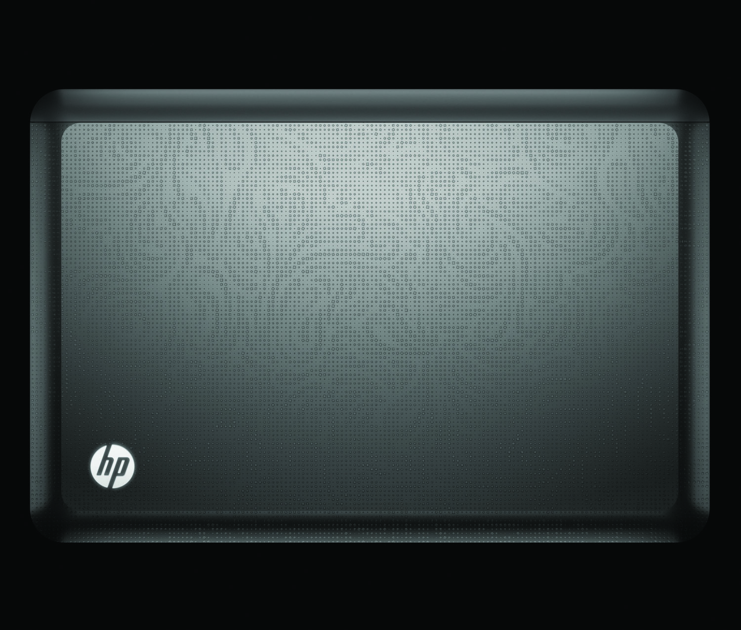 HP Envy 14, top closed on black