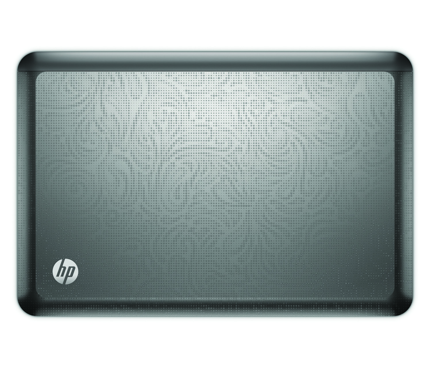 HP Envy 14, top closed on white