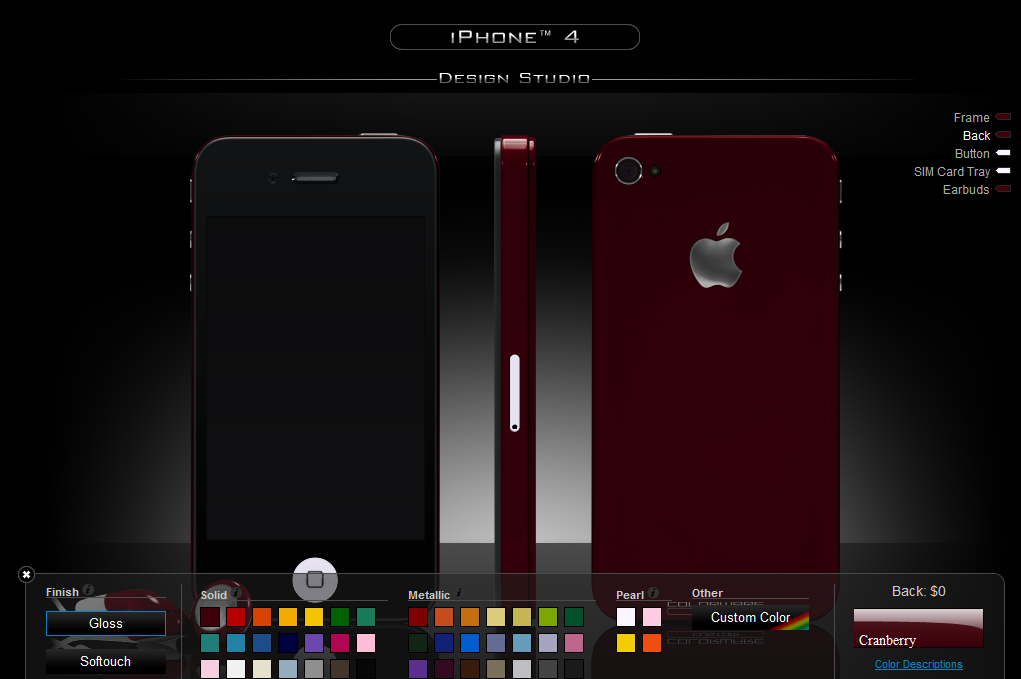 Colorware Will Fix Your iPhone 4 Antenna Issue with Style