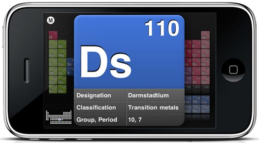 Emd free periodic table app for the iphoneipod touchipad could be emd free periodic table app for the iphoneipod touchipad could be a students best friend urtaz Choice Image