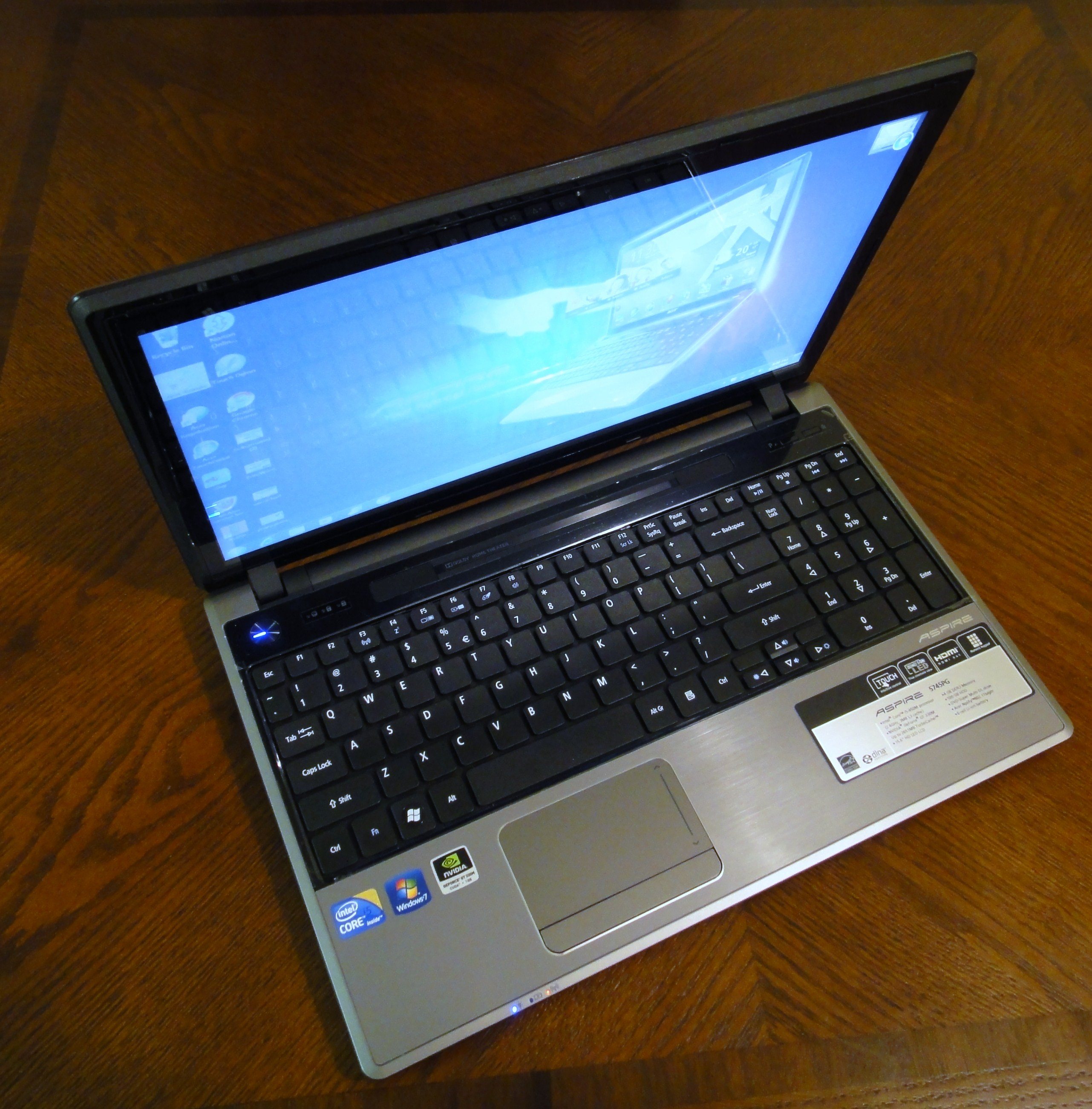 ACER ASPIRE 5745PG DRIVER FOR WINDOWS