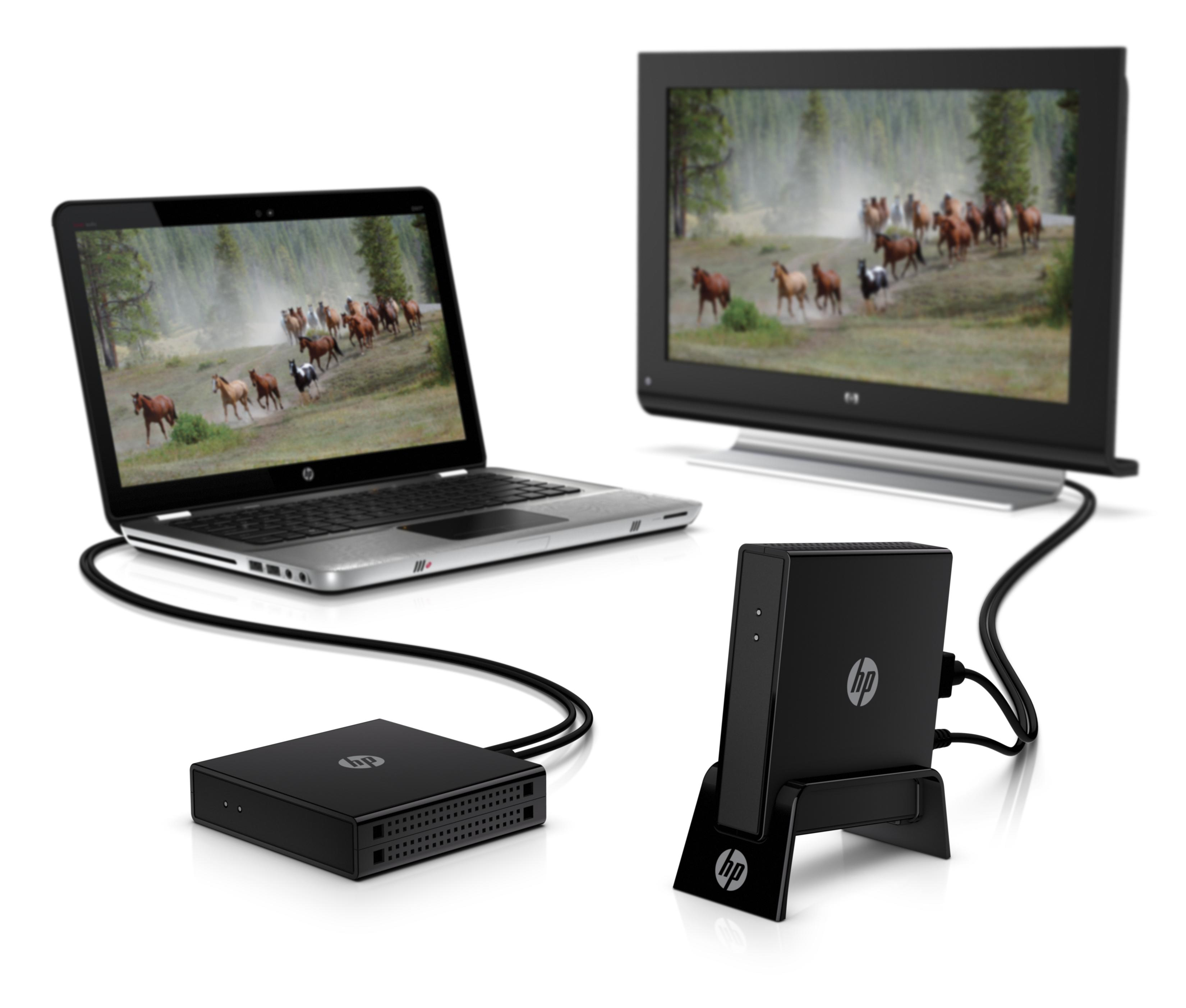 HP Wireless TV Connect, group