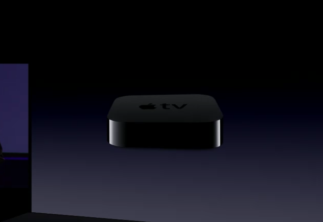 The Apple TV shown off today is 1/4th the size of the old Apple TV and comes