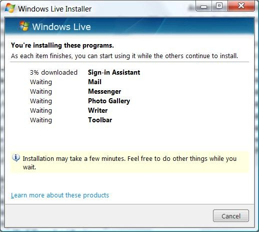 offline installer waves