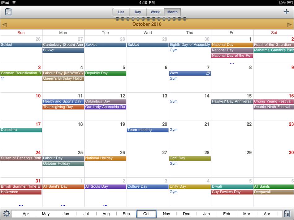 Calendars Readdle
