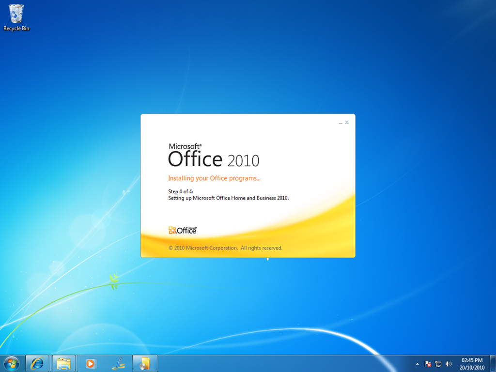 office home and business 2010 setup download