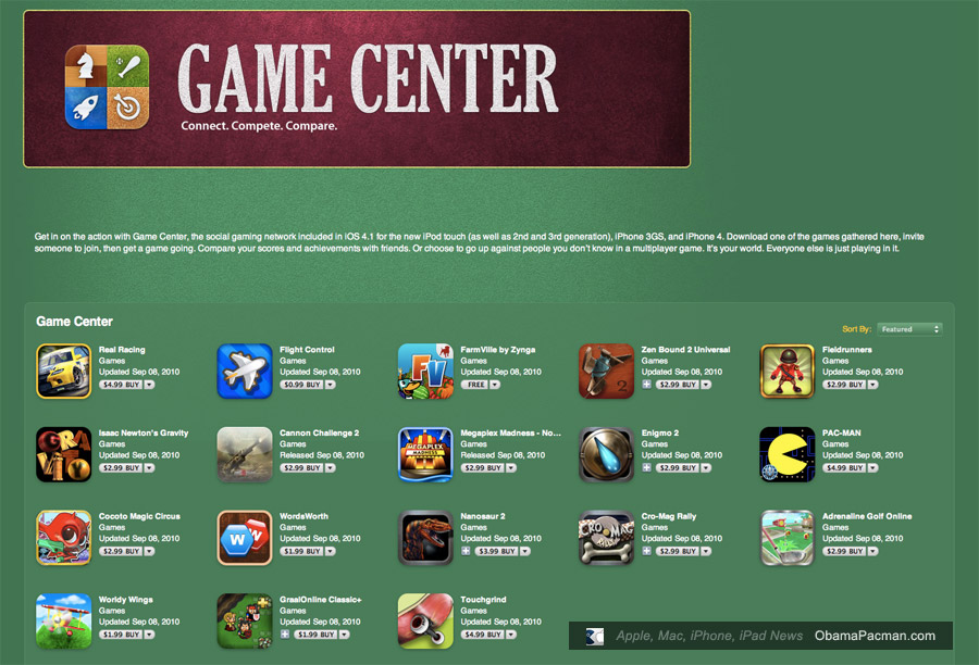 Game Center Apple Kostenlos