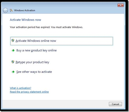 Activate Windows 2 tut