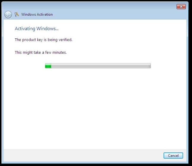 windows 7 activation key invalid