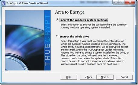 Encrypt System Partition 3