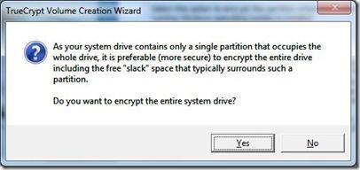 Encrypt System Partition 3a