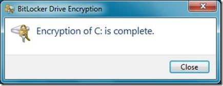 Encrypting B