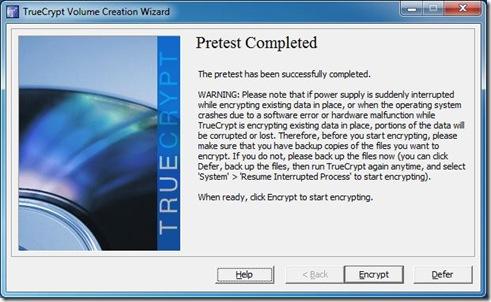 Start Encryption 4