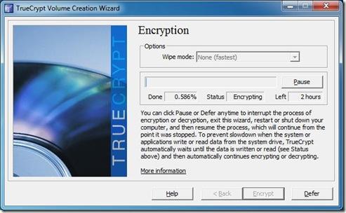Start Encryption 5
