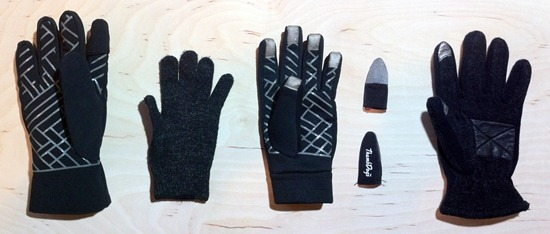 glove layout