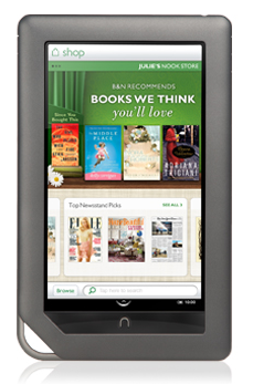 Lending nook books to kindle
