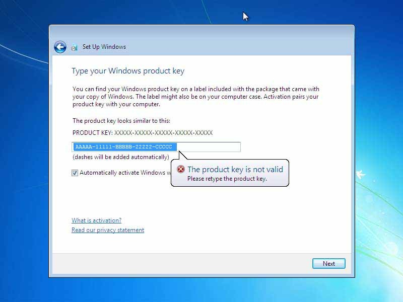 instal windows 7 ultimate