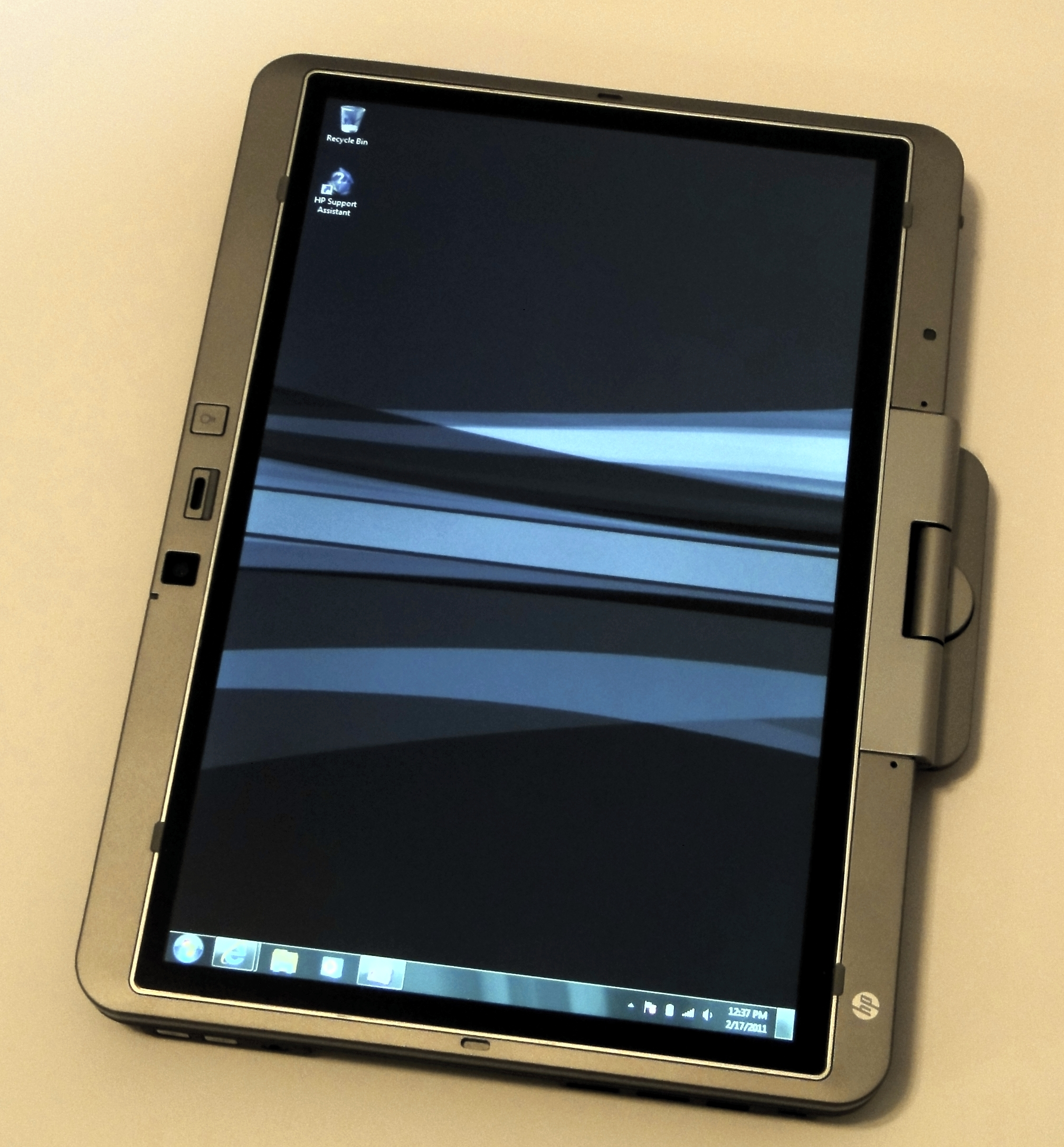 EliteBook Tablet mode
