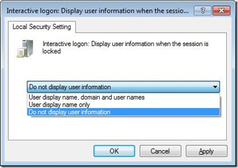 Security Options 2