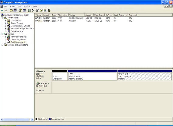 WINXP Partition 10