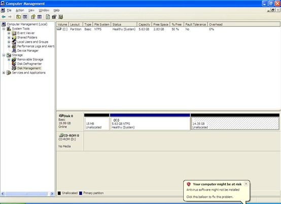 WINXP Partition 2