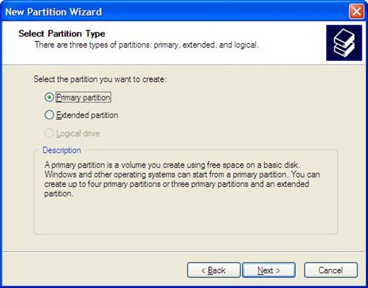 WINXP Partition 5