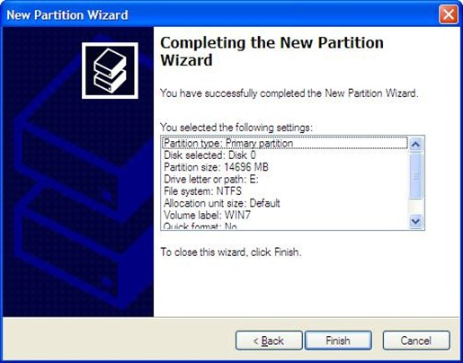WINXP Partition 9