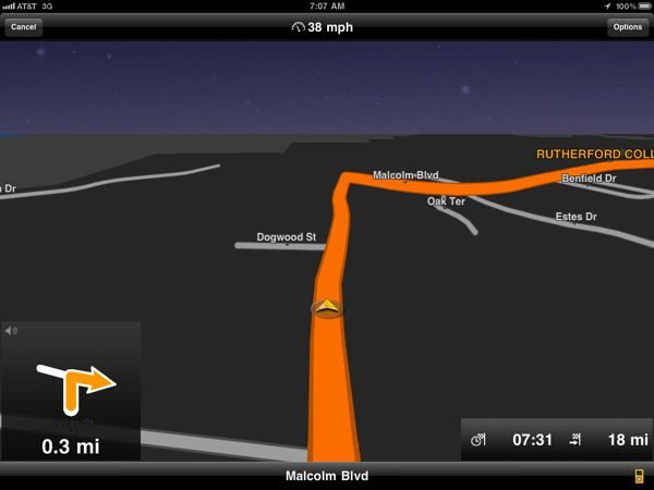 With Navigon use iPad as a GPS device