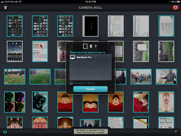 PhotoSync is Best Way to Transfer iPad 2 Pictures to PC