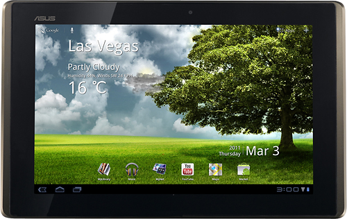 Asus Eee Pad Transformer Front