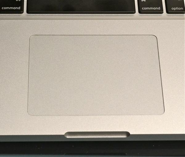 MacBook Pro - trackpad