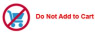 Do Not add to Cart Button
