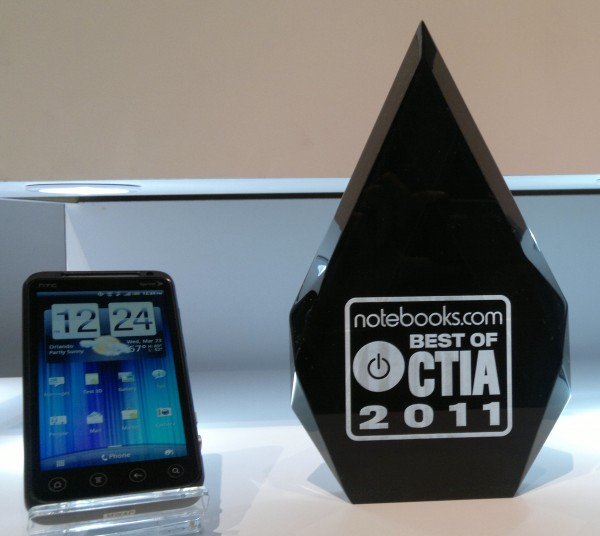 HTC Evo 3D Best of CTIA