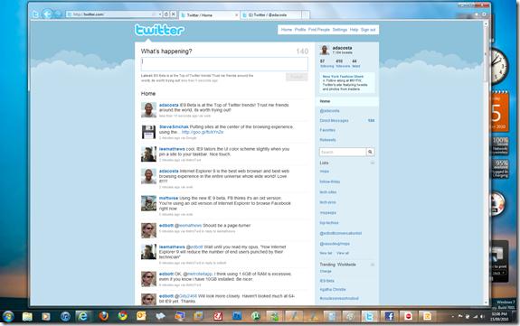 Internet Explorer 9 Review - 1