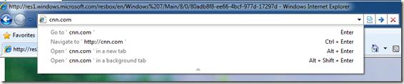 Internet Explorer 9 Review - Comparison