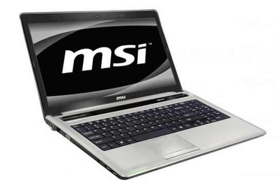 MSI CX640 front
