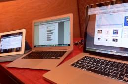 MacBook Pro, MacBook Air and iPad 2