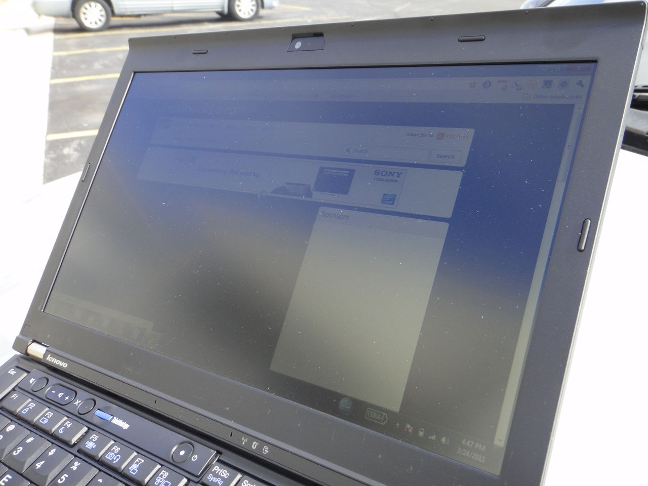 X220 IPS Display Outdoor - Angle