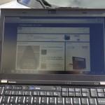 X220 IPS Display Outdoor Head On 2