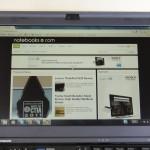 X220 IPS Display Outdoor In the Shade