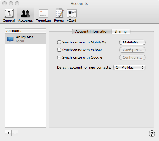 How to sync Gmail to Mac Address Book