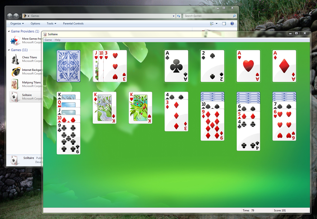 microsoft solitaire collection windows 7 professional