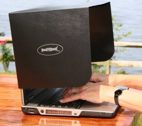 laptop shade - outdoor laptop accessory