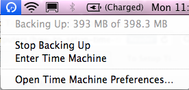 How to setup time machine on Mac