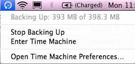 How to setup time machine on Mac